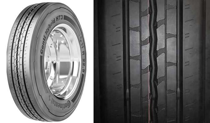 Continental представила решение для восстановления трейлерных шин Conti Hybrid HT3