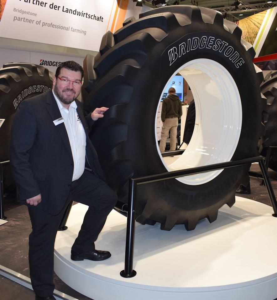 Bridgestone представила в Ганновере свою первую агрошину среднеценового сегмента