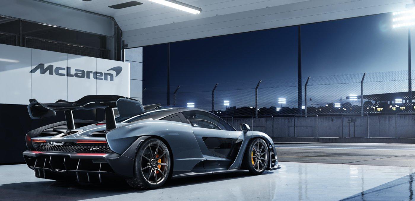 Самый дорогой гиперкар в истории  McLaren обуют в шины Pirelli