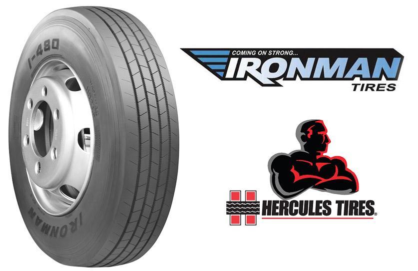 Hercules расширяет ассортимент грузовых шин бренда Ironman