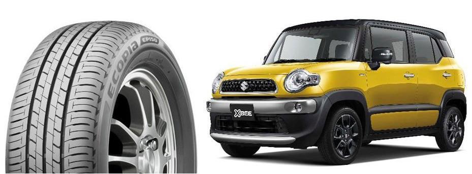 Компакт-кроссоверы Suzuki XBee примерят экошины Bridgestone Ecopia EP150