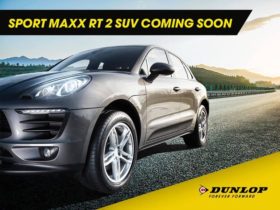 Dunlop опубликовала первый тизер новой летней шины Sport Maxx RT2 SUV
