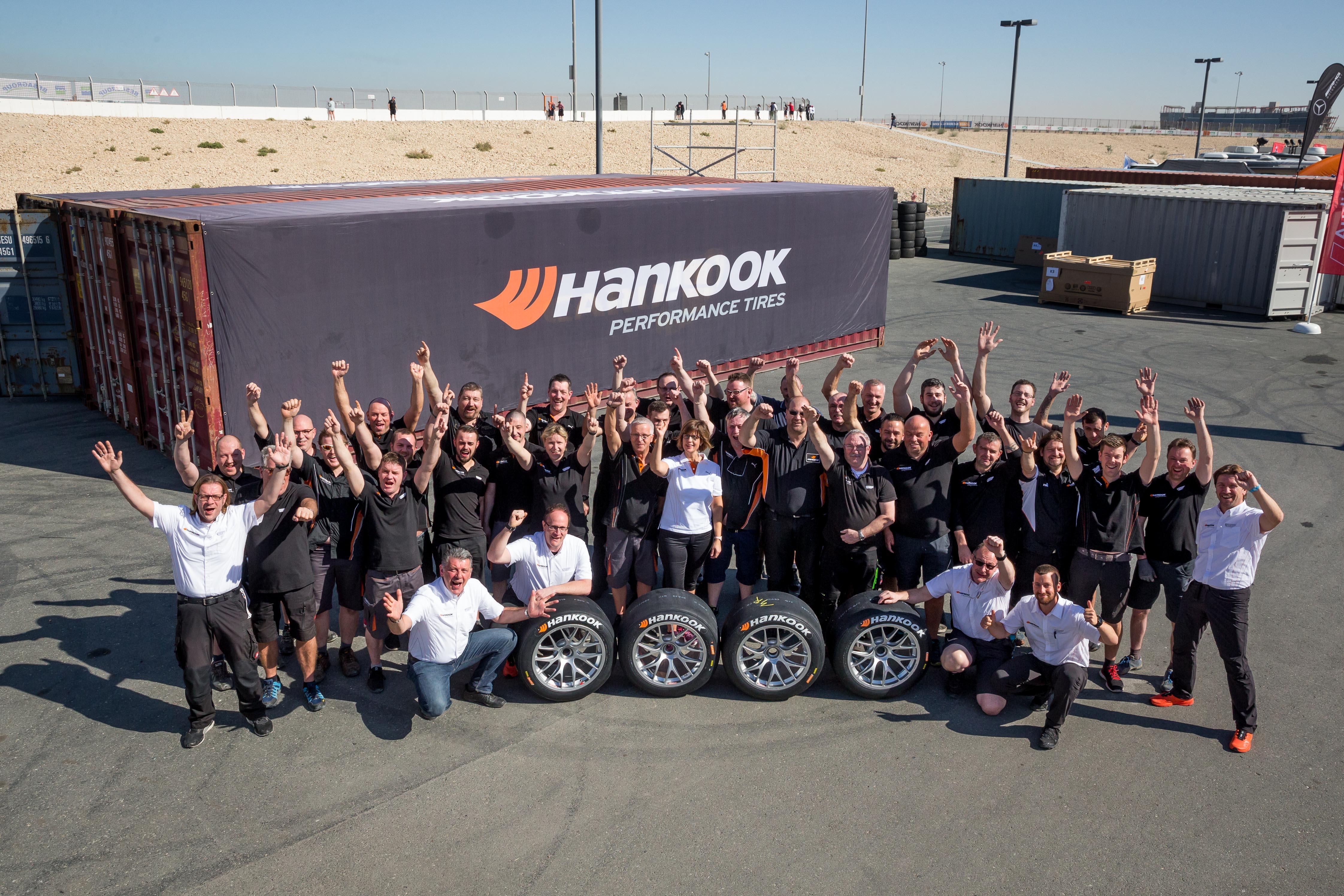 Hankook открывает автоспортивный сезон в Дубае