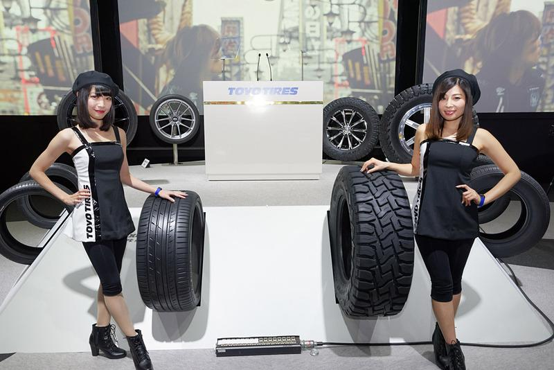 Японские шинопроизводители представили свои новинки на Tokyo Auto Salon 2018