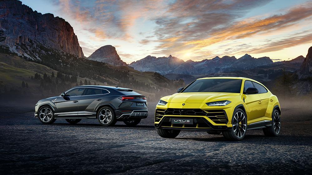 Пирелли разработала для Lamborghini Urus шесть вариантов оригинальных покрышек
