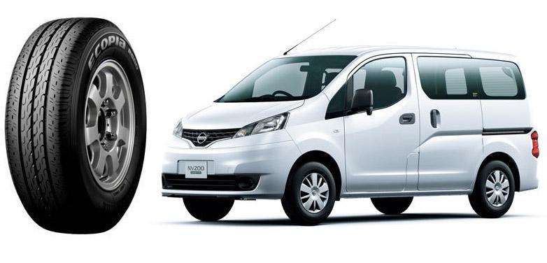 Обновленный минивэн Nissan NV200 Vanette обули в «зеленые» шины Ecopia R680