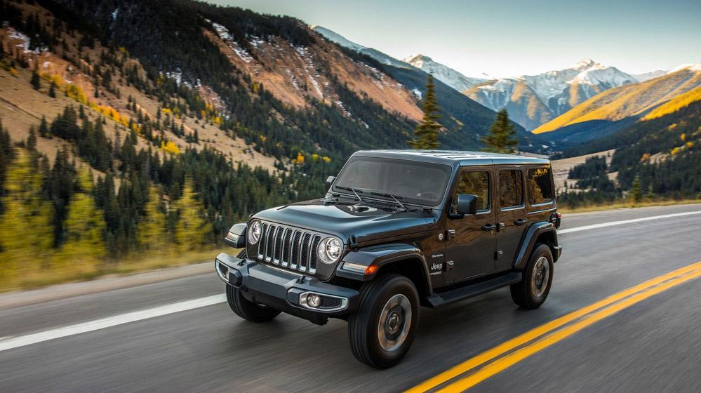 Bridgestone Americas обует в свои всесезонки новые внедорожники Jeep Wrangler