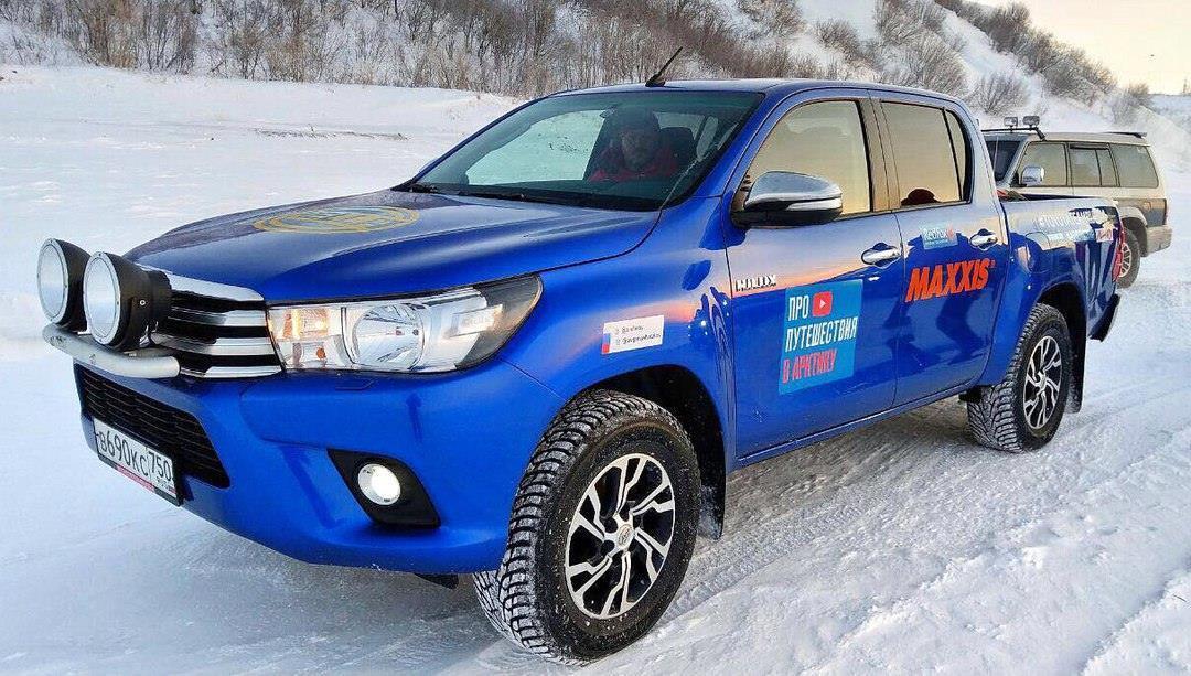 Полярная экспедиция на шинах Maxxis установила новые рекорды России, Гиннесса и Европы