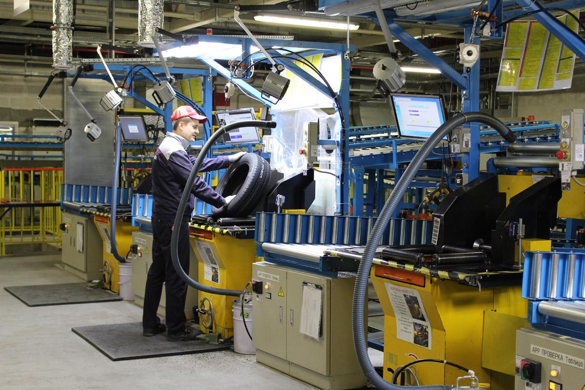 Журналисты федеральных СМИ посетили завод Bridgestone в Ульяновске