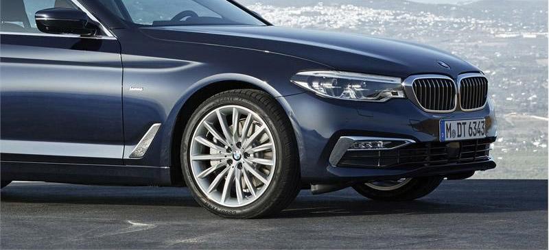 Шины Goodyear и Dunlop омологированы для BMW 5 Series