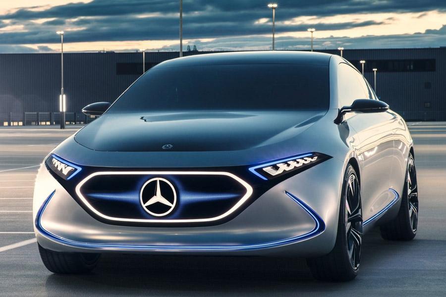 Mercedes может показать в Женеве серийный электромобиль