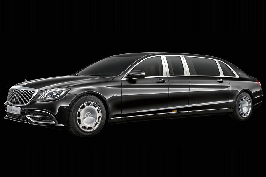 Mercedes обновил лимузин Pullman