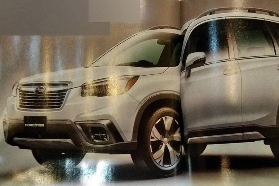Новый Subaru Forester рассекретили досрочно