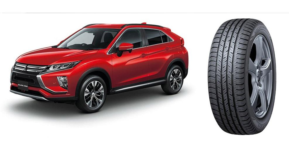 Mitsubishi выбрала для новых вседорожников Eclipse Cross шины Falken