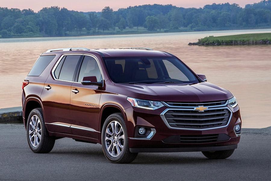 Chevrolet Traverse для России: первые подробности