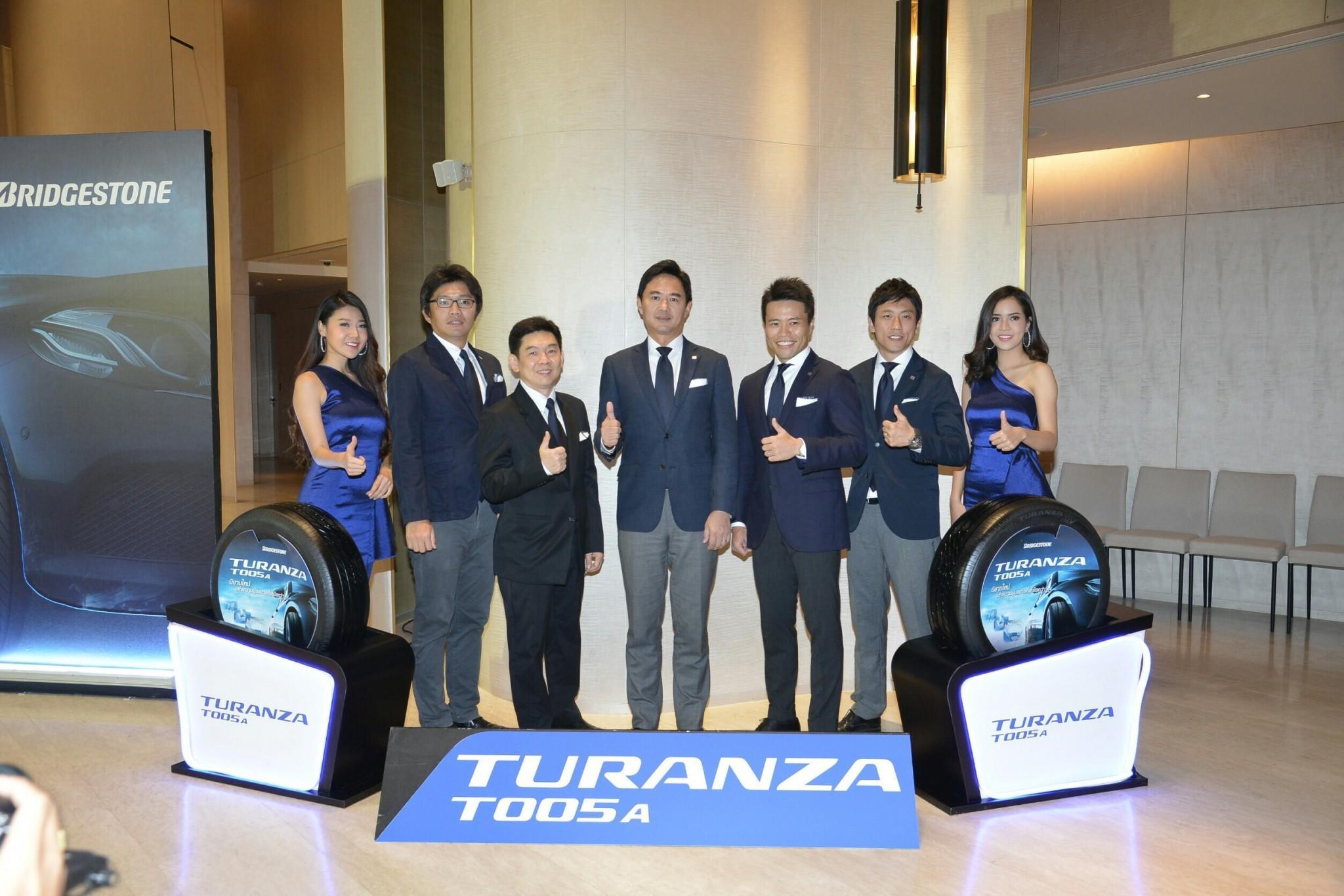 Bridgestone презентует новые шины Turanza T005A на рынках стран Юго-Восточной Азии