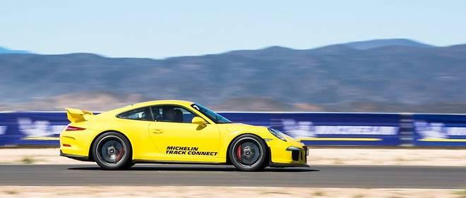 Система мониторинга шин Michelin Track Connect позволит улучшить время на круге