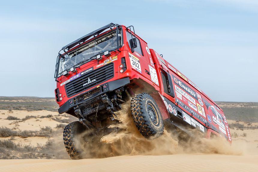 «Белшина» разработала раллийные шины для гоночных грузовиков команды «МАЗ-СПОРТавто»