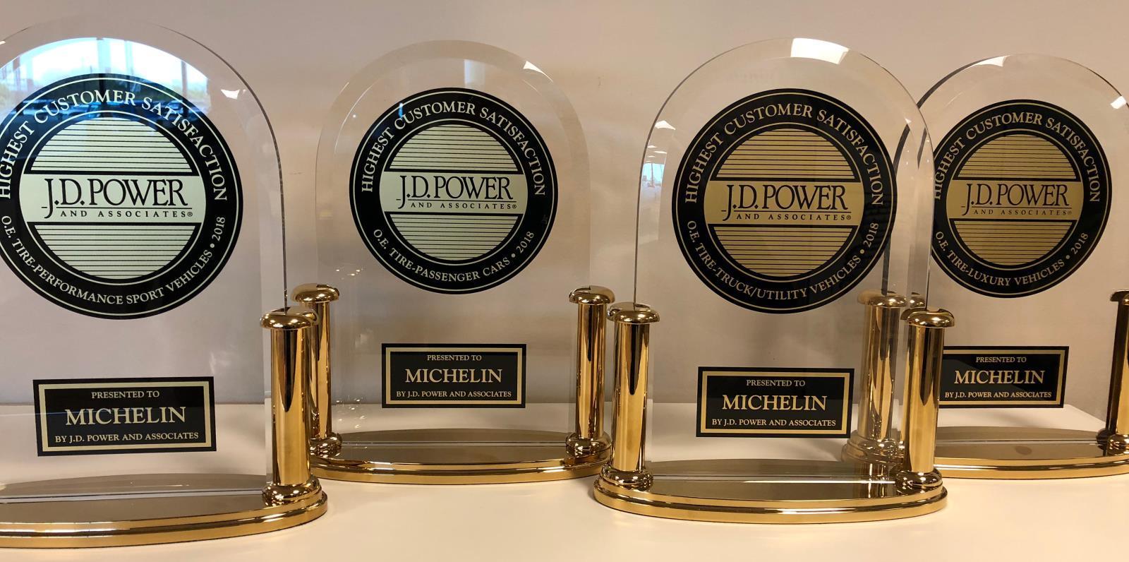 Очередная тотальная победа Мишлен в американском рейтинге удовлетворенности J.D. Power