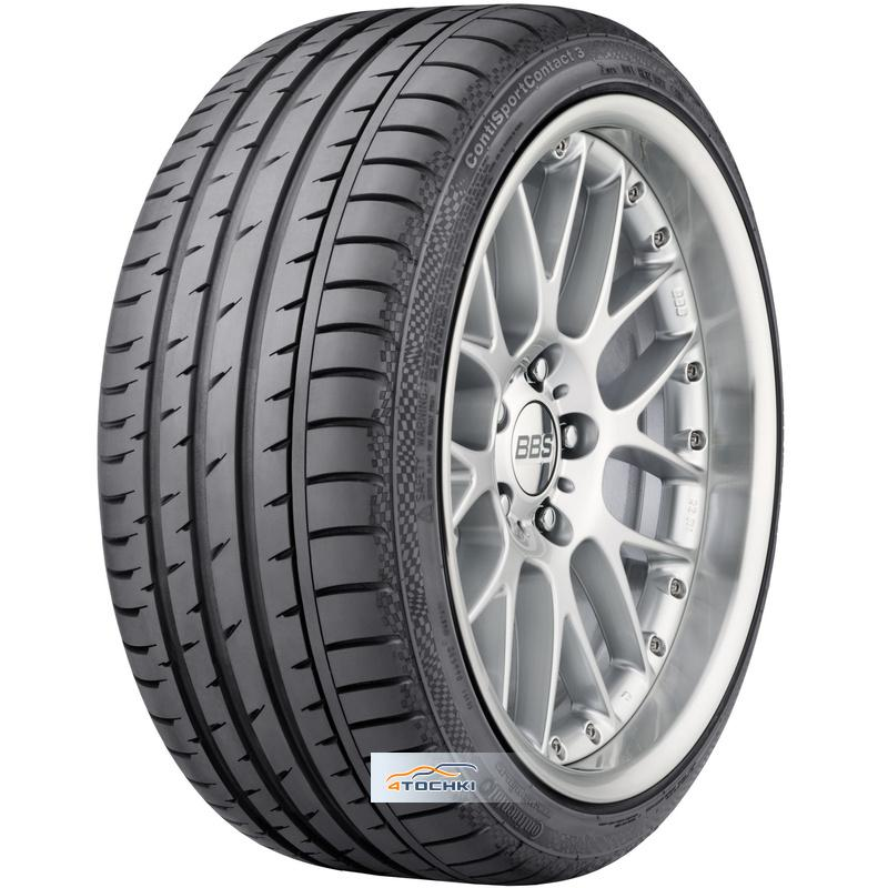 Шины Continental ContiSportContact 3 245/45R19 98W Run on Flat *