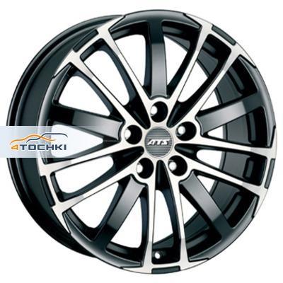 Диски ATS X-Treme Racing black front polished 7,5x17/5x108 ЕТ45 D70,1
