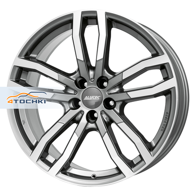 Диски Alutec DriveX Metal Grey Front Polished 9,5x21/5x112 ЕТ53 D66,5