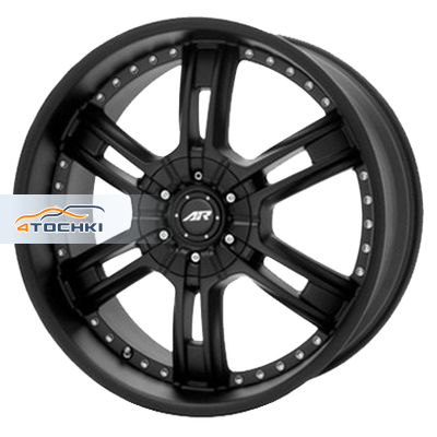 Диски American Racing AR339 Black 9,5x22/5x150 ЕТ38 D110