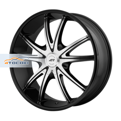 Диски American Racing AR897 Black/Machined 8,5x20/5x114,3*5x120 ЕТ38 D74,1