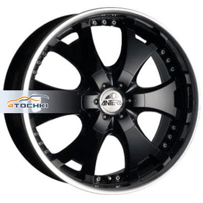 Диски Antera 361 Racing Black Lip Polished 9,5x20/6x139,7 ЕТ12 D110,1