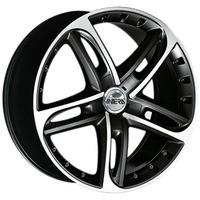 501 Racing black front polished