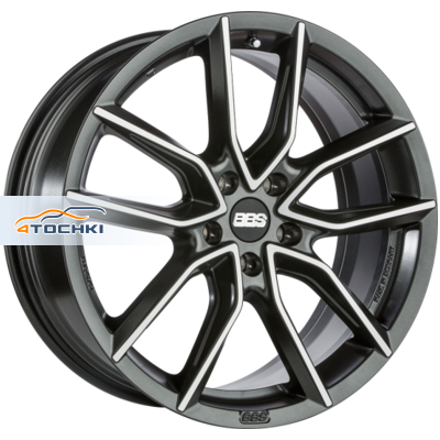 Диски BBS XA Black + Diamond Cut 8,5x19/5x114,3 ЕТ45 D82