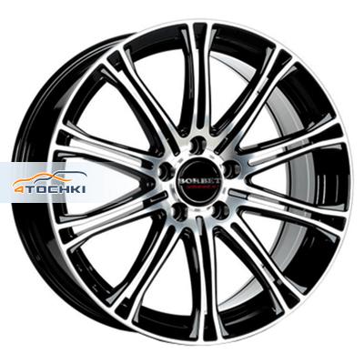 Диски Borbet CW1/5 Black polished 8x18/5x112 ЕТ35 D72,5