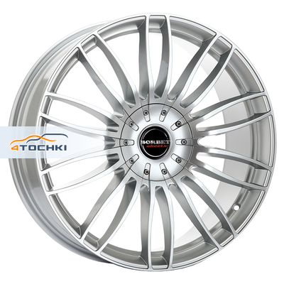 Диски Borbet CW3 Sterling Silver 9x20/5x120 ЕТ45 D72,5