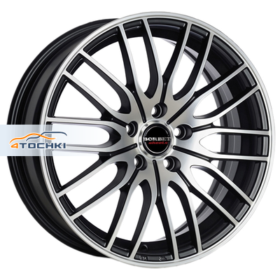 Диски Borbet CW4/5 Black Polished Glossy 7,5x19/5x114,3 ЕТ42 D67,1