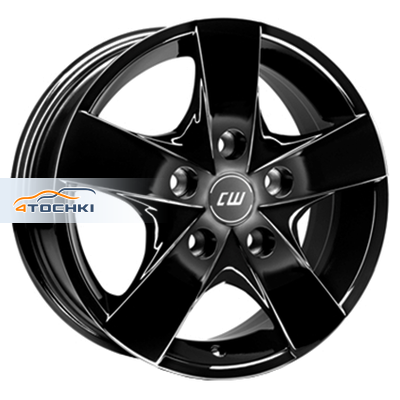Диски Borbet CWF Black glossy 6,5x16/5x160 ЕТ60 D65,05