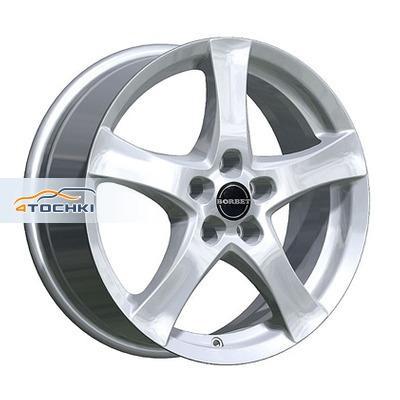 Диски Borbet F Brilliant Silver 6,5x16/5x112 ЕТ38 D72,5