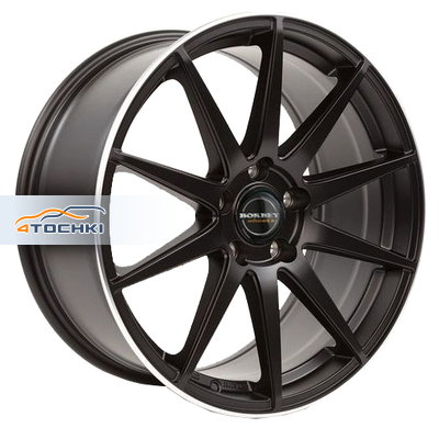 Диски Borbet GTX Black Rim Polished Matt 8,5x19/5x112 ЕТ21 D66,5