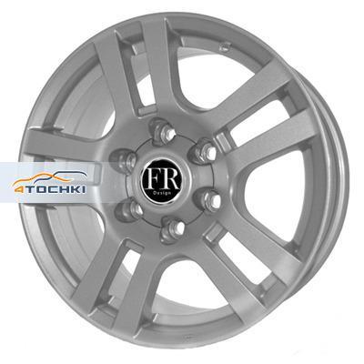 Диски FR replica TY61 Silver 7,5x17/6x139,7 ЕТ25 D106,2