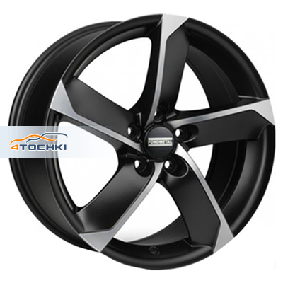 Диски Fondmetal 7900 Matt Black Polished 7,5x17/5x112 ЕТ35 D57,1