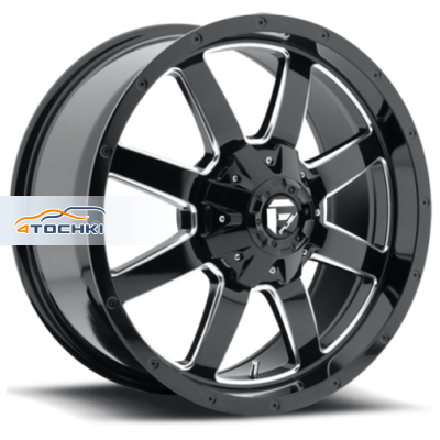 Диски Fuel Frontier Gloss Blk/Machined 9x20/5x114,3*5x127 ЕТ30 D72,69