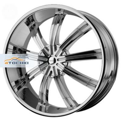 Диски KMC KM672 Chrome 8,5x20/6x135*6x139,7 ЕТ38 D100,5