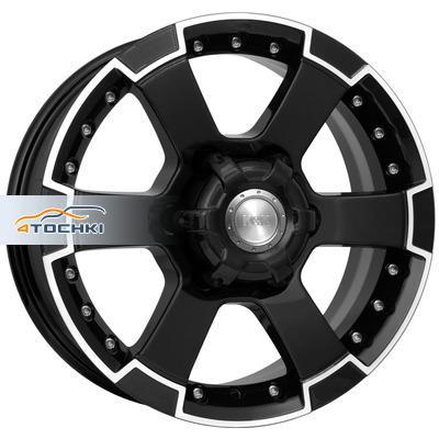 Диски КиК М56 Алмаз черный