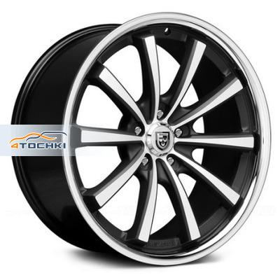 Диски Lexani CVX55 Gloss Black/Machined/Chrome Lip 9x20/5x120 ЕТ20 D74,1