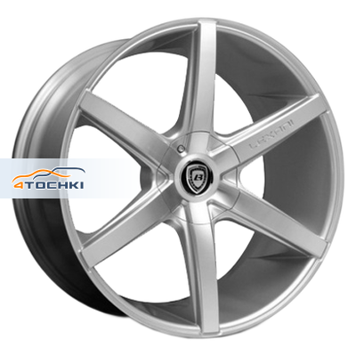 Диски Lexani R6 Silver/Machined 7,5x17/5x108*5x114,3 ЕТ35 D73
