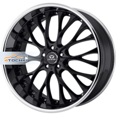 Диски Lorenzo WL27 Black/Machined 10x22/5x120 ЕТ40 D74