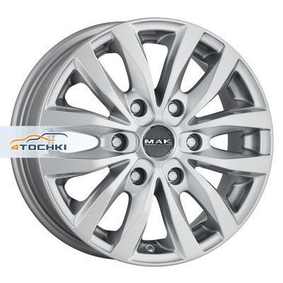 Диски MAK Load 6 Silver 6,5x16/6x139,7 ЕТ20 D106,1