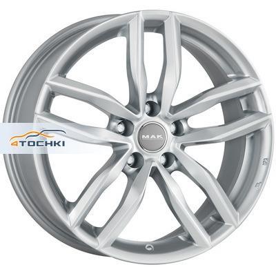 Диски MAK Sarthe Silver 8x18/5x112 ЕТ28 D66,45