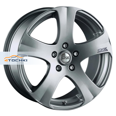 Диски OZ 5 Star Metal Silver 7x17/5x114,3 ЕТ45 D75