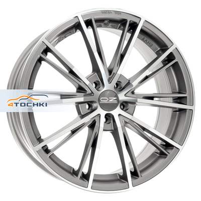 Диски OZ Envy Matt Silver Tech Diamond Cut 7x15/4x98 ЕТ37 D68