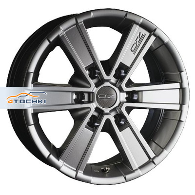 Диски OZ Off-road 6 Metal Titanium 7x16/6x127 ЕТ35 D78,1